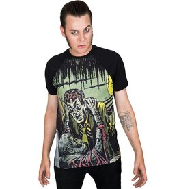 Tales From The Crypt Gravebuster Raglan