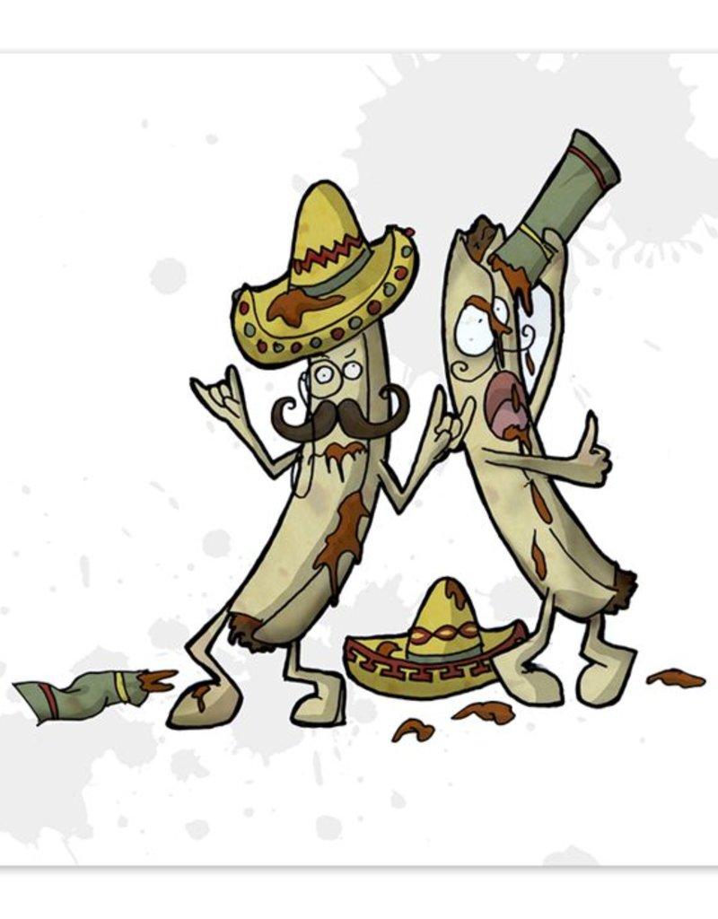 Fiesta de Tinta - Taquito Party - 8x8 Print