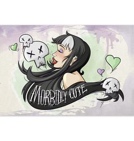Morbidly Cute - 8x12 Print