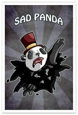 Sad Panda - 8x12 Print