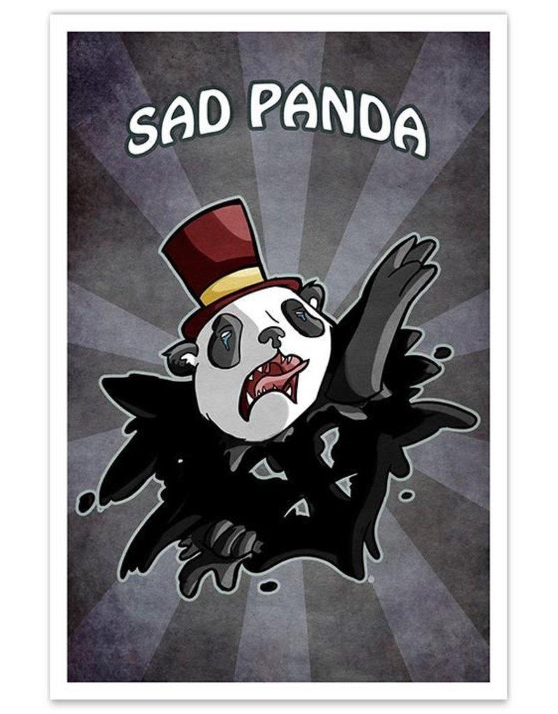 f05e308b8dc Sad Panda - 8x12 Print - SWEET! Hollywood
