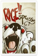 RAGE!!spresso Coffee Cafe - 8x12 Print