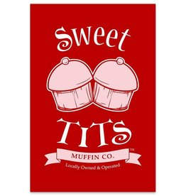 Sweet Tits - 8x12 Logo Print