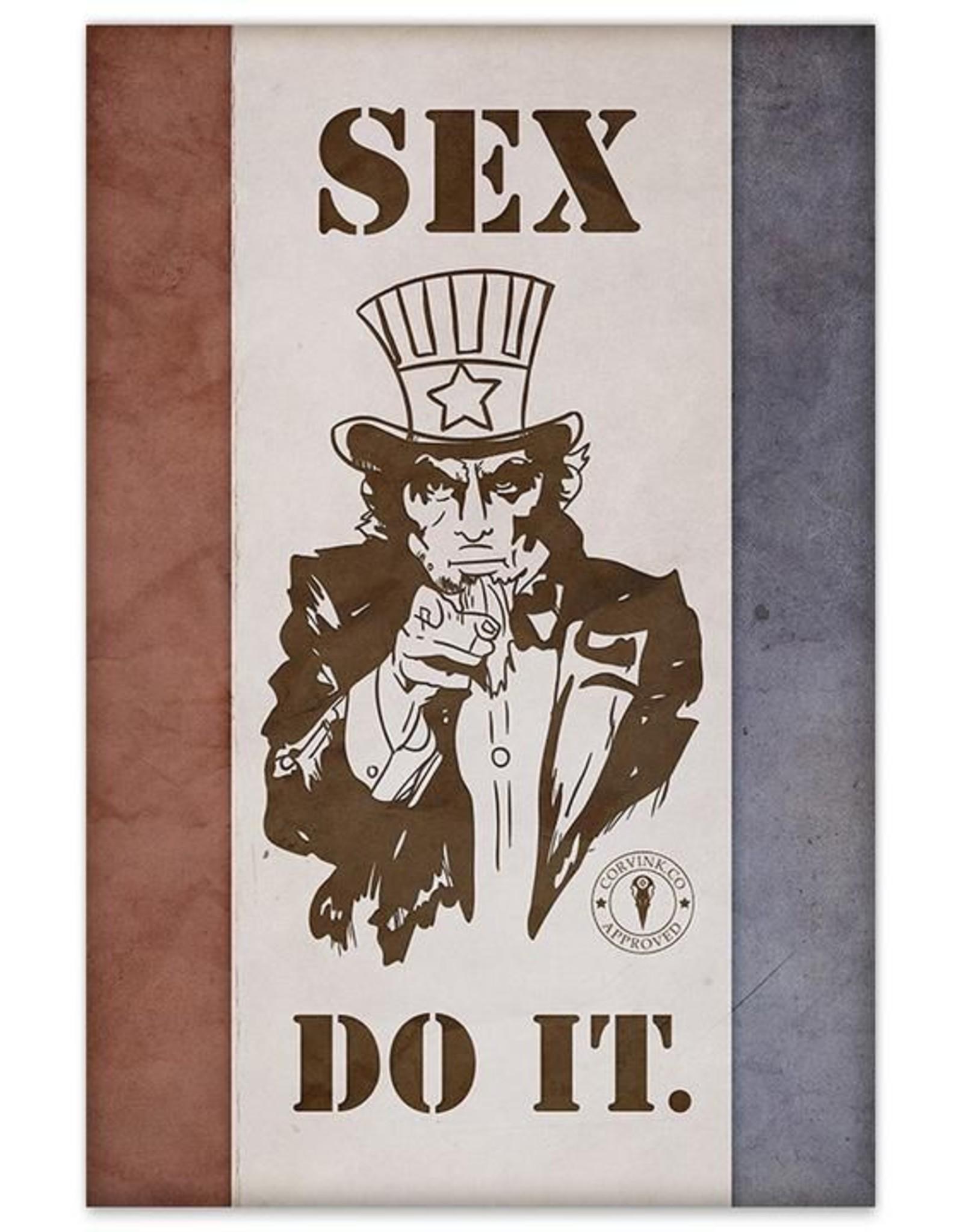Uncle Sam Sex, DO IT - 8x12 Print