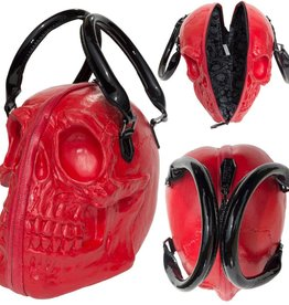 Skull Collection Hand Bag - Red
