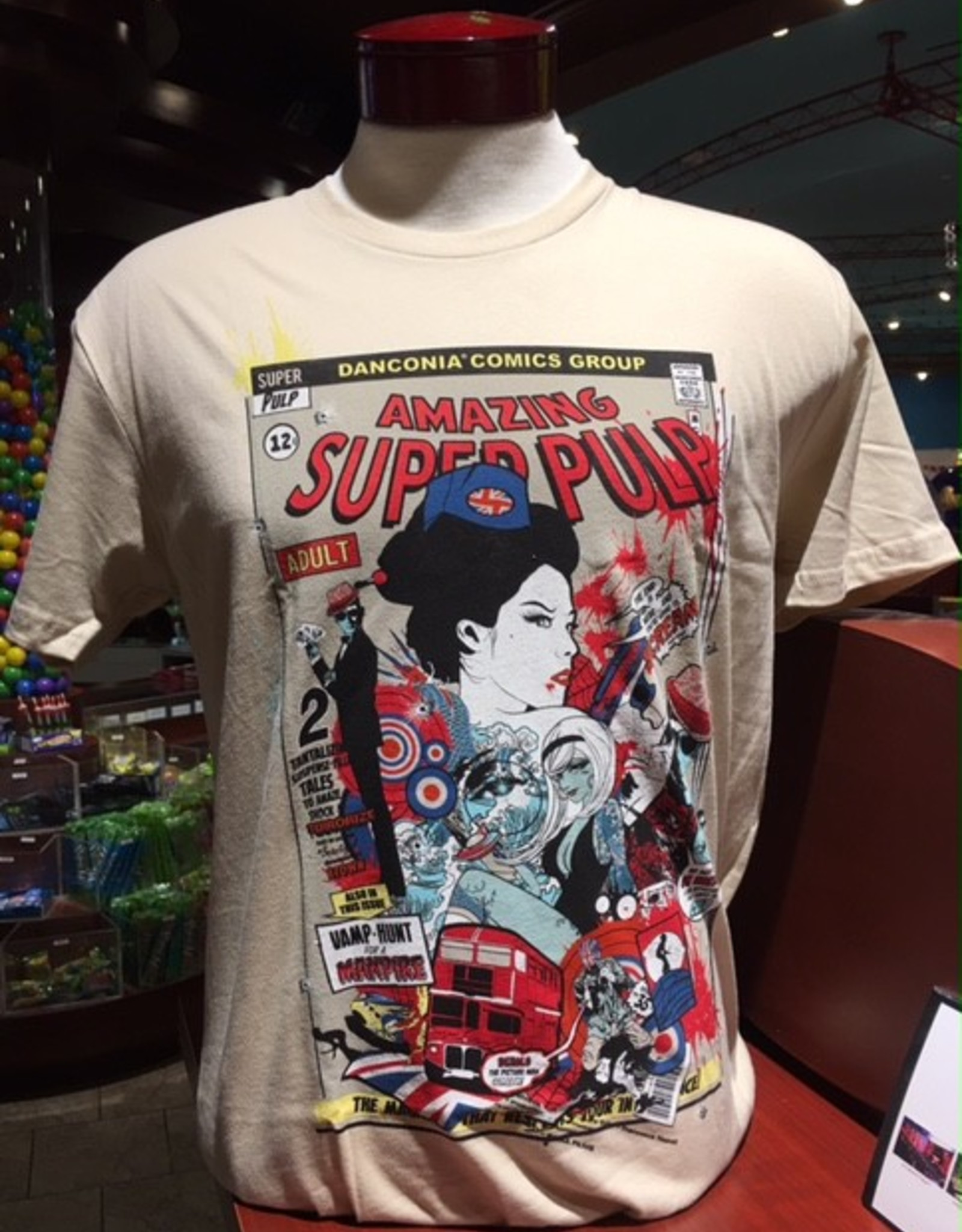 Sean Danconia - Amazing Super Pulp Tee
