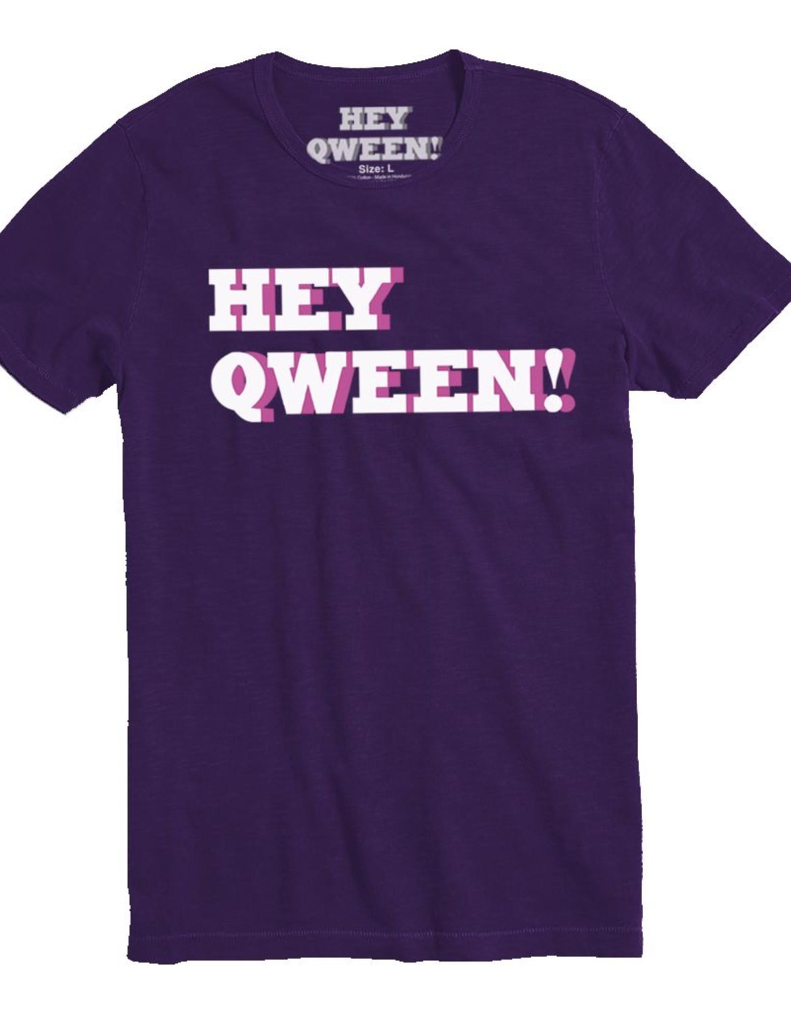 Hey Qween Logo Tee
