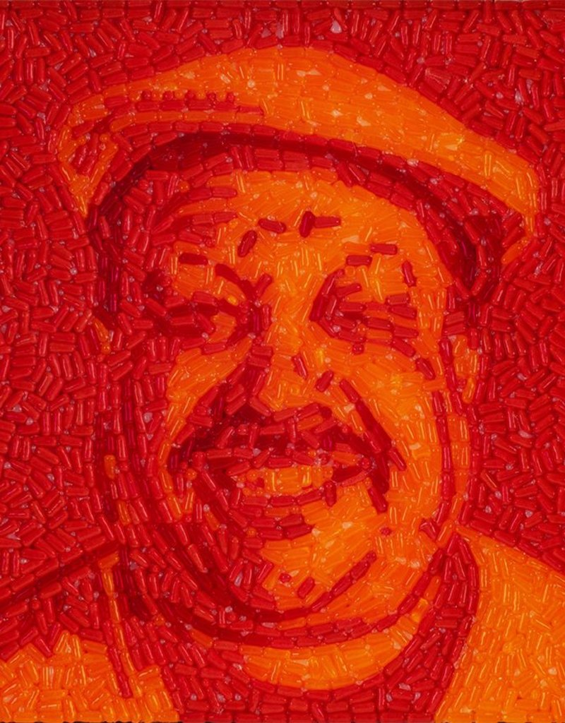 Candylebrity Artwork (24x24) - Chuy/Hot Tamales