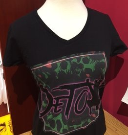 Detox Logo Ladies V-Neck
