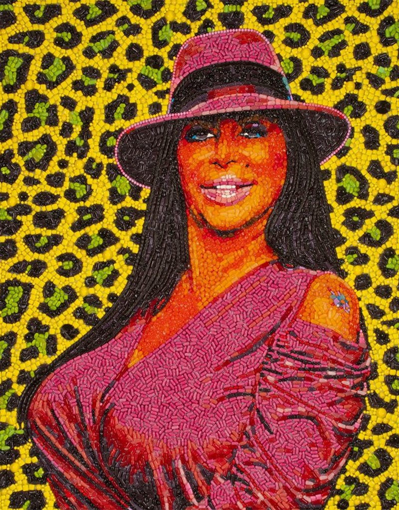Candylebrity Artwork 36x48 Big Ang Sweet Hollywood