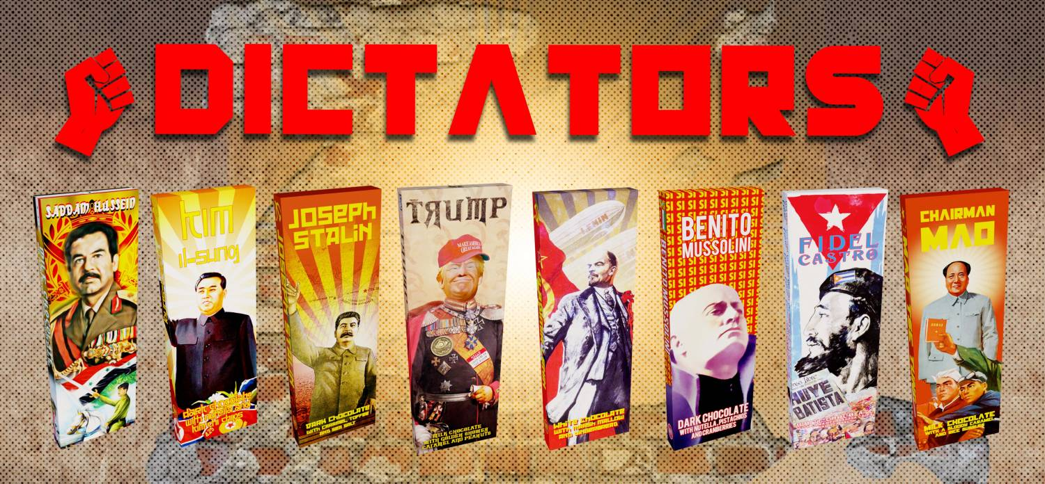 Dictator Chocolate Bars Series