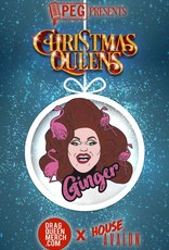 Ginger Minj Enamel Pin