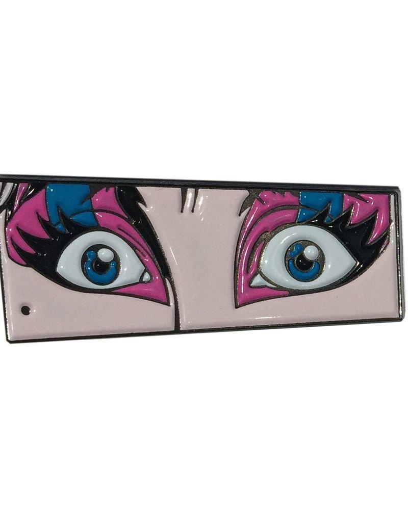 Eyes of Elvira Enamel Pin