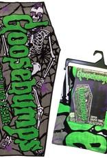 Goosebumps Logo Coffin Beach Towel