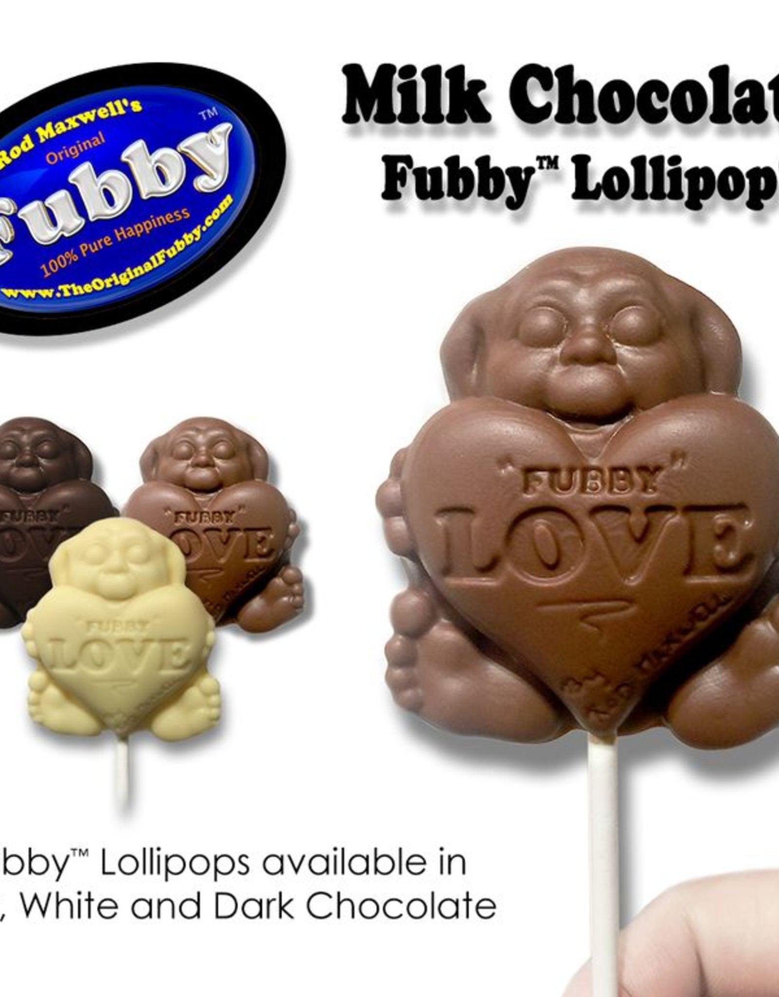 Rod Maxwell's Fubby Pop- Milk