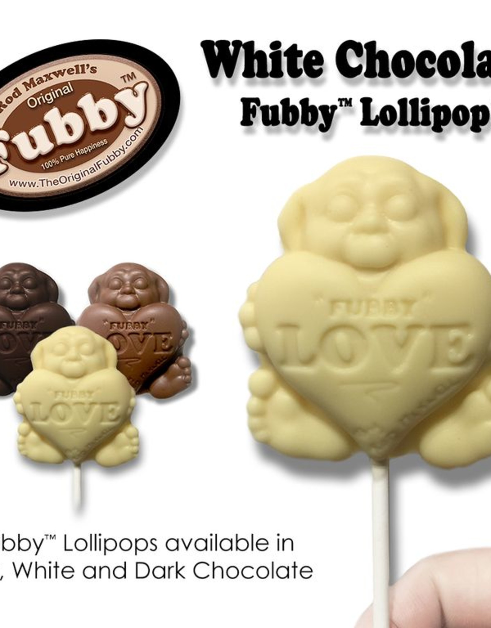Rod Maxwell's Fubby Pop- White
