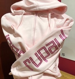 Rupaul Glitter Pink Zip Up