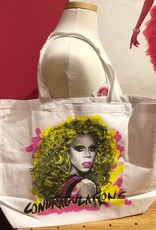 Rupaul Condragulations White Tote Bag