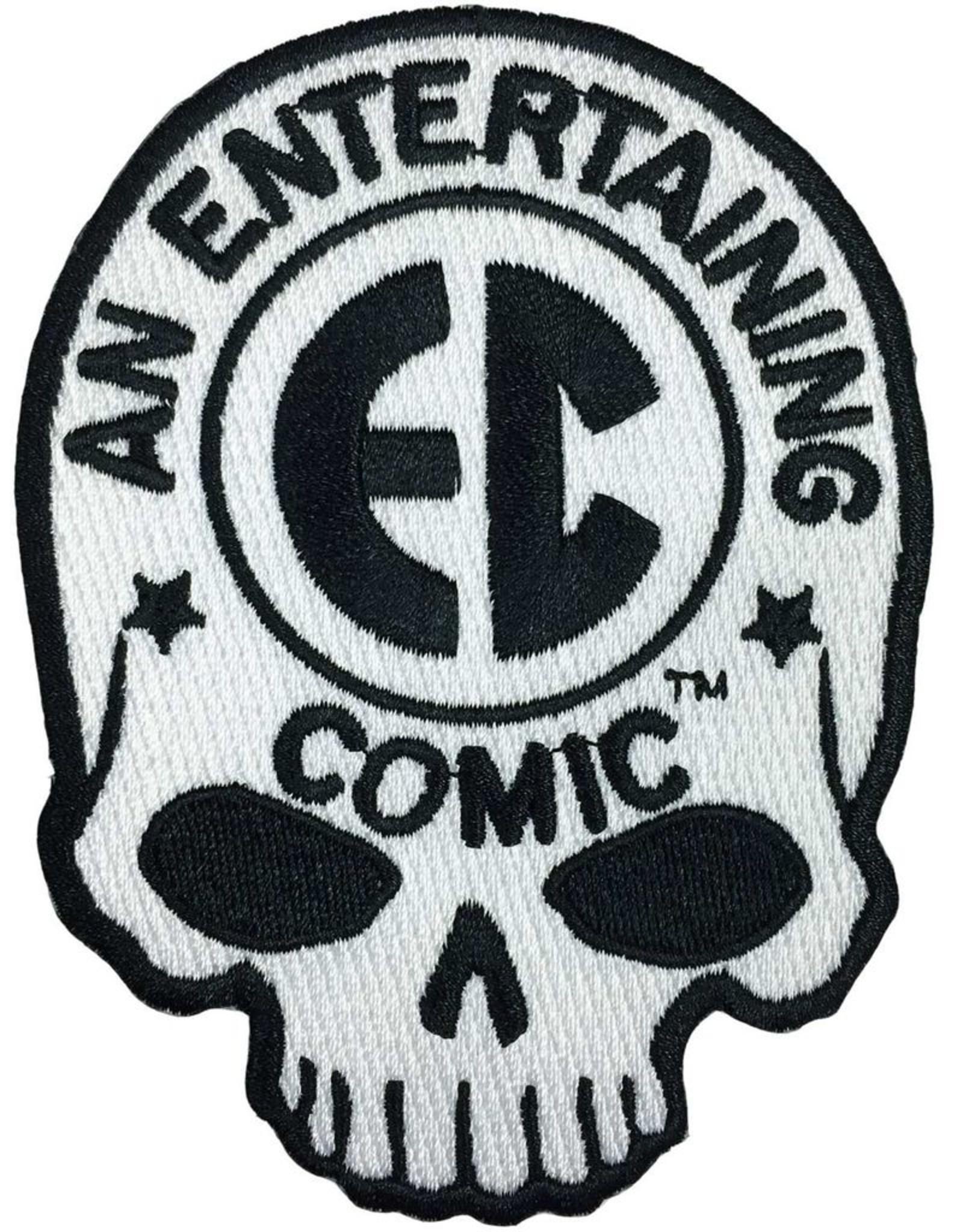 EC Comic Skull Logo Patch