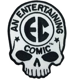 EC Comic Skull Logo Patch