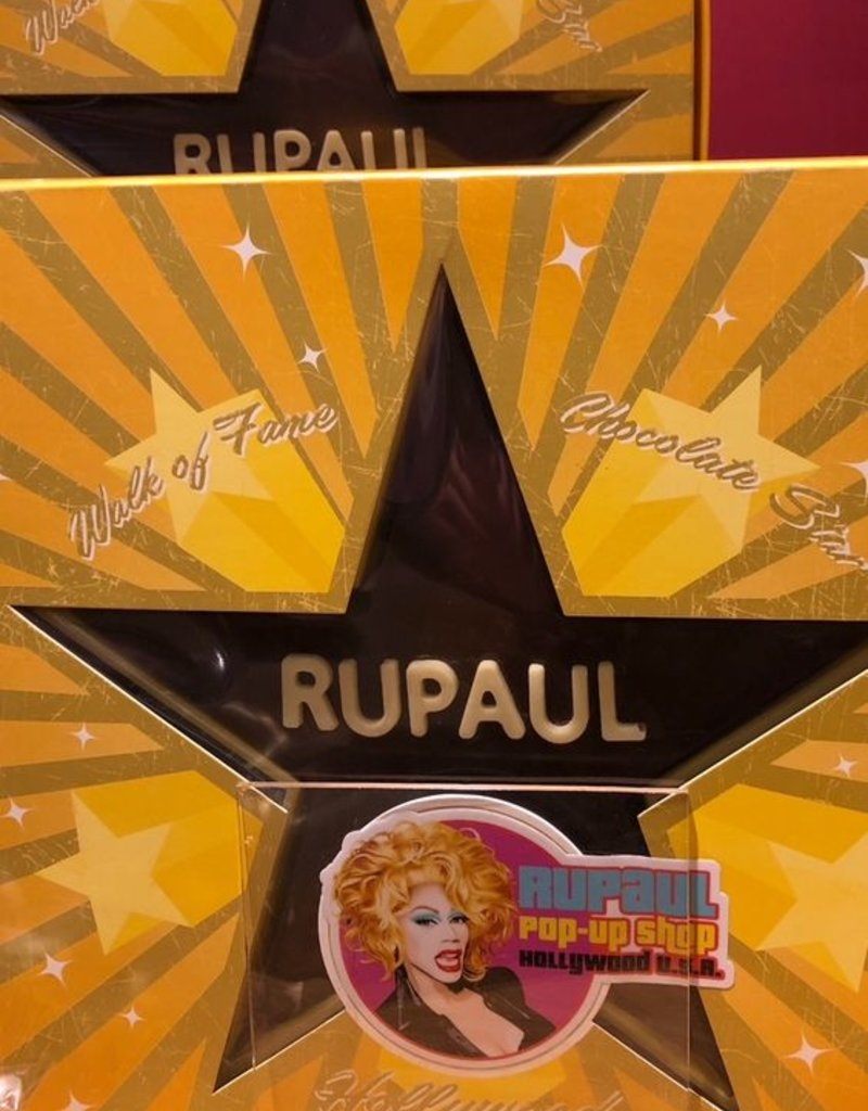 RuPaul Milk Chocolate Star
