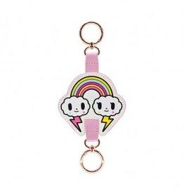 tokidoki - Denim Daze Rainbow Keychain