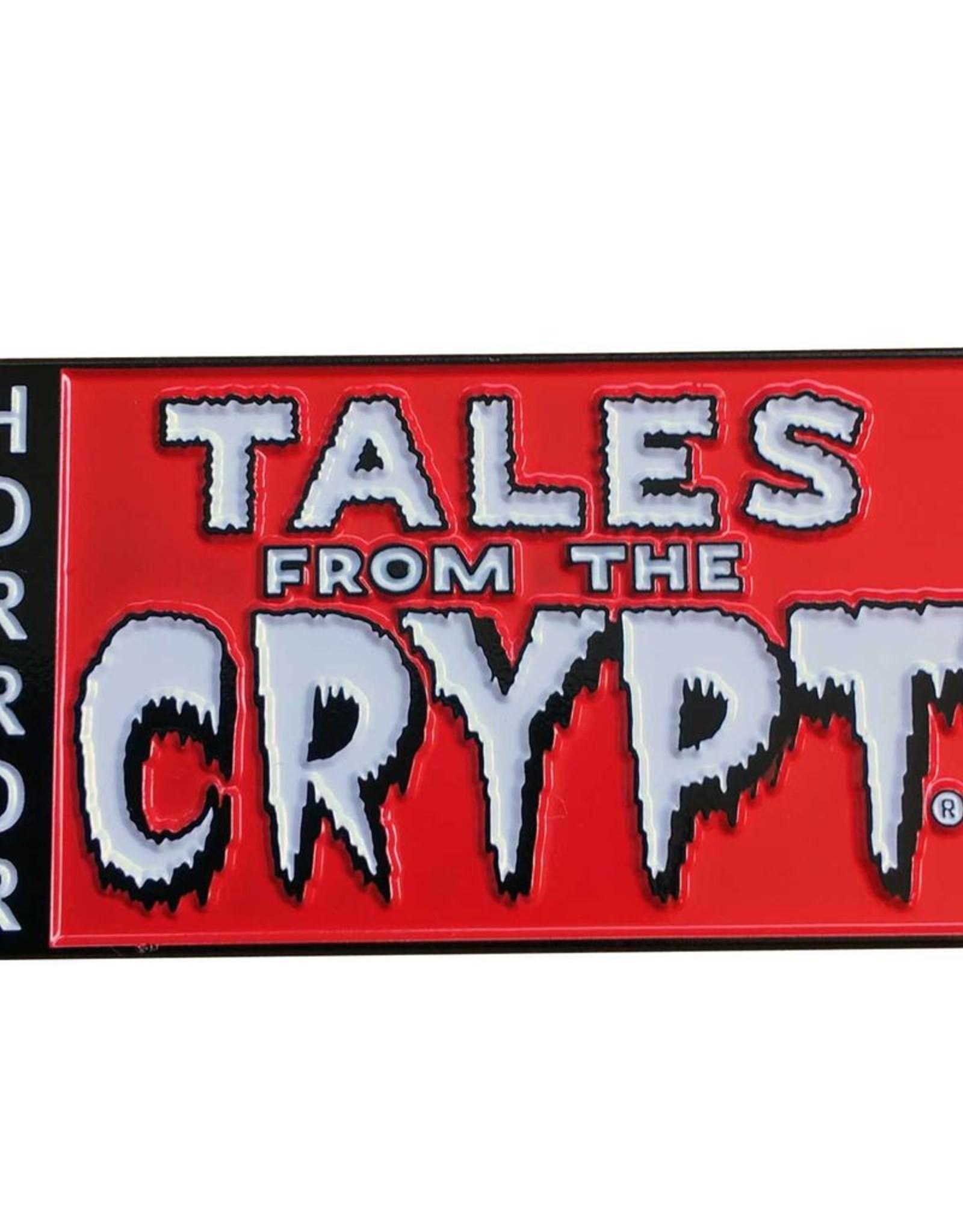 Tales From The Crpy Logo XL Enamel Pin Badge