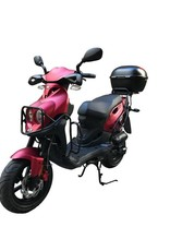 Genuine Scooters 2018 Matte Red Fully Loaded Genuine Roughhouse (T.I.)
