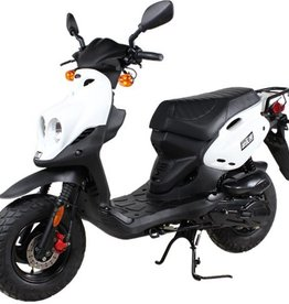Genuine Scooters 2018 White Genuine Roughhouse (#R-97)