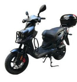 Genuine Scooters 2018 Matte Black Genuine Roughhouse Sport (Fully Loaded T.I)