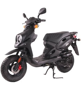 Genuine Scooters 2018 Black Genuine Roughhouse (#R-98)