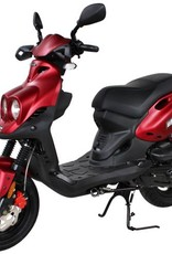 Genuine Scooters 2019 Matte Red Roughhouse Sport W/Performance Exhaust