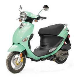 Genuine Scooters 2018 Seafoam Genuine Buddy 50cc Moped (#41)