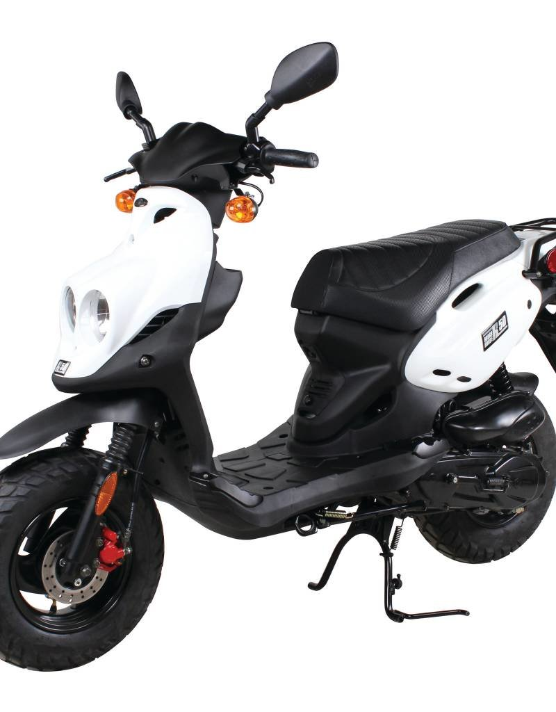 Genuine Scooters 2018 White Genuine Roughhouse (#R-9)