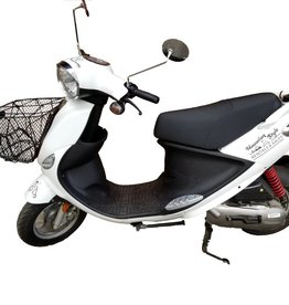 Genuine Scooters 2018 White Genuine Buddy Basket (#b-48)