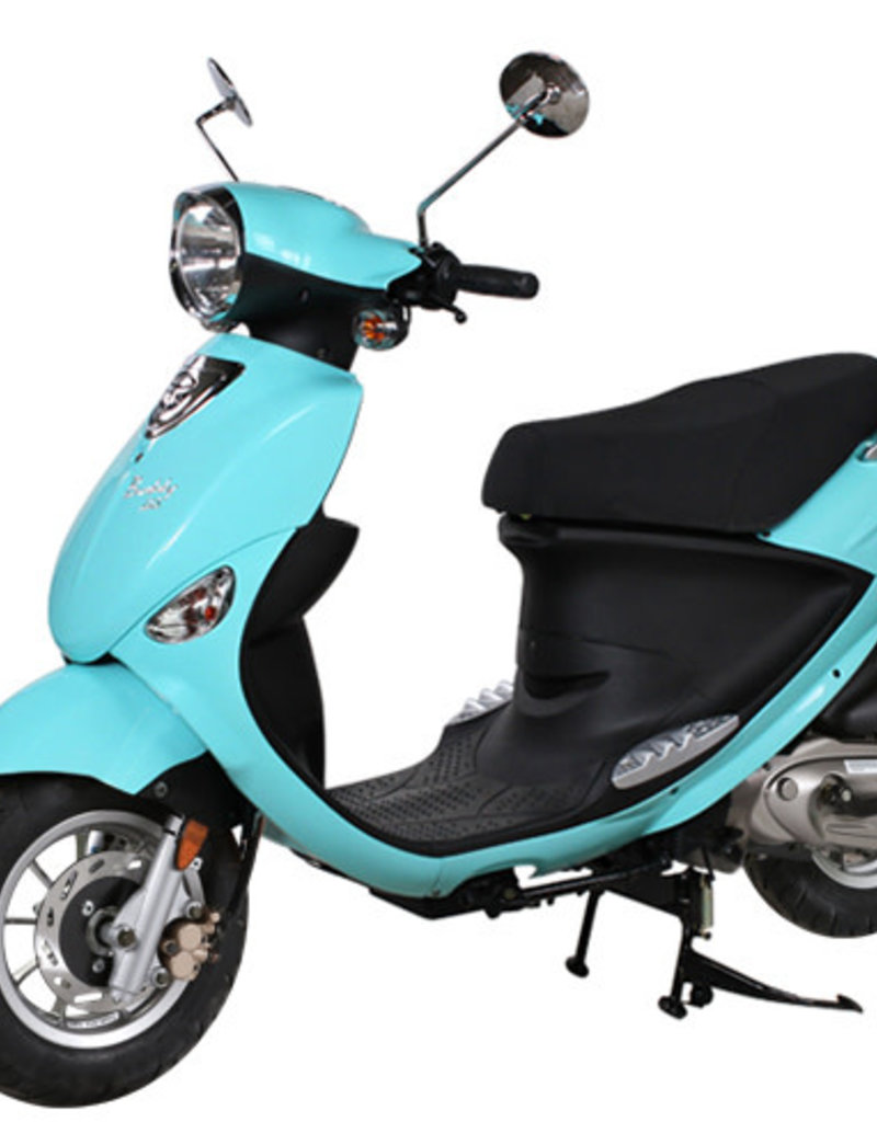 2020 Turquoise Buddy 125cc Scooter