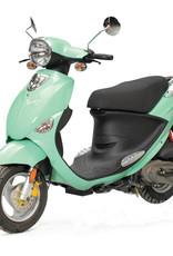 Genuine Scooters 2018 Seafoam Genuine Buddy 50cc Moped (#44)