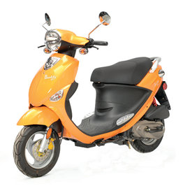 Genuine Scooters 2018 Tangerine Genuine Buddy 50cc Moped (t.i)