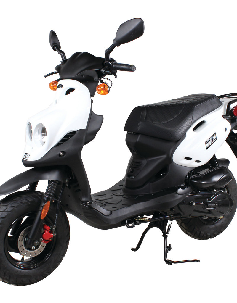 Genuine Scooters 2019 White Genuine Roughhouse (#R-11)