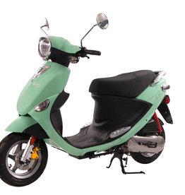 Genuine Scooters 2018 Seafoam Genuine Buddy 50cc Moped (#69)