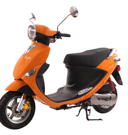 Genuine Scooters 2017 Tangerine Genuine Buddy 50cc Moped (t.i.)