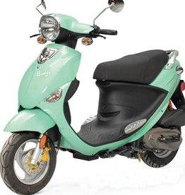 Genuine Scooters 2018 Seafoam Genuine Buddy 50cc Moped (#59)