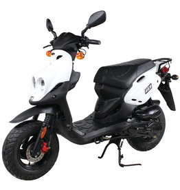 Genuine Scooters 2019 White Genuine Roughhouse (#R-21)