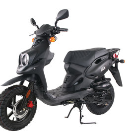 Genuine Scooters 2019 Black Genuine Roughhouse (#r-32)