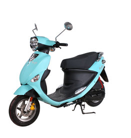 Genuine Scooters 2019 Turquoise Genuine Buddy 50cc Moped (#94)