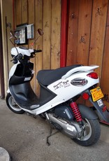Genuine Scooters 2019 white Genuine Buddy 50cc Moped (#10)