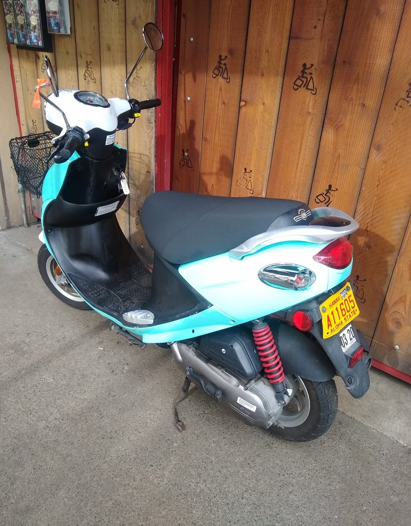 Genuine Scooters 2019 Turquoise Genuine Buddy Basket (#b-63)
