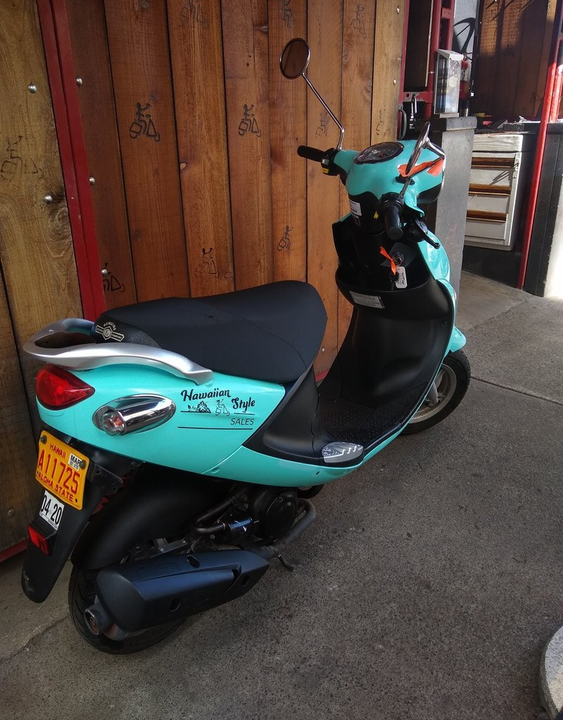 Genuine Scooters 2018 Turquoise Genuine Buddy (#06)