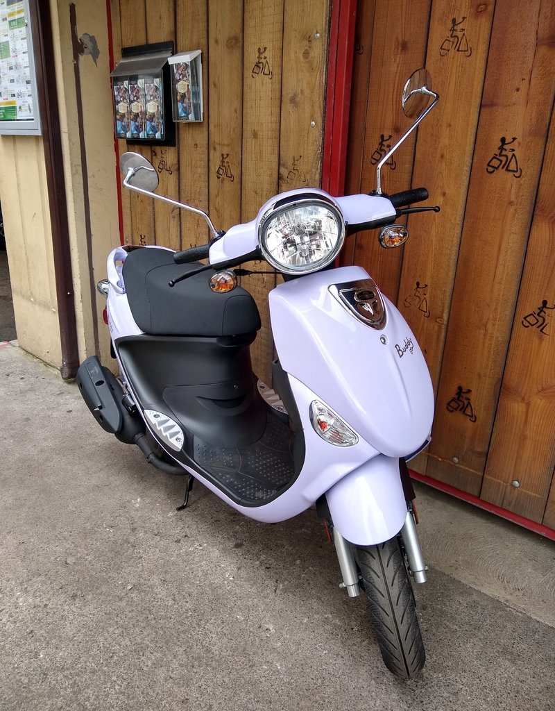 Genuine Scooters 2020 Lavender Genuine Buddy 50cc Moped