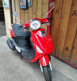 Genuine Scooters 2020 Red Genuine Buddy 50cc Moped